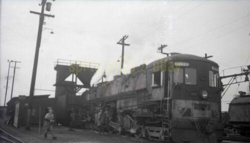 1952 SP Southern Pacific 4-8-8-2 Locomotive #4188 - Vintage Railroad Negative
