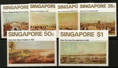 SINGAPORE SG165/70 1071 ART MTD MINT