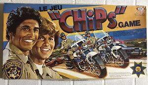 Vintage 1981 Chips Board Game