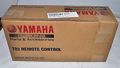 OEM Yamaha 703 Side Mount Remote Control Part# 703-48207-22-00