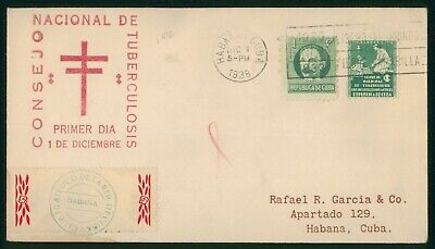 Mayfairstamps Habana 1937 Anti-Tuberculosis cover wwo88857