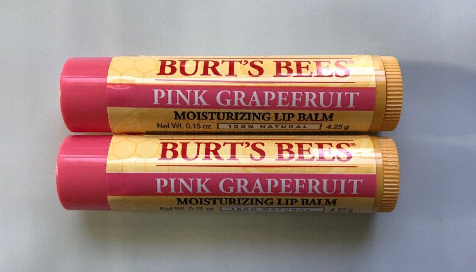 Burts Lip Balm Pnk Grpfrt Size .15 O Burts Bee Lip Balm - Pi