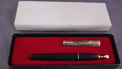 Parker Holy Water Sprinkler in orginal box with instuctions-Gold Cap