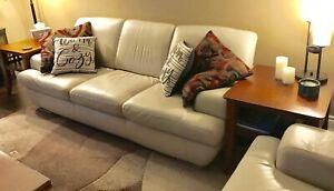LEATHER COUCH & CHAIR $1000 or B/O
