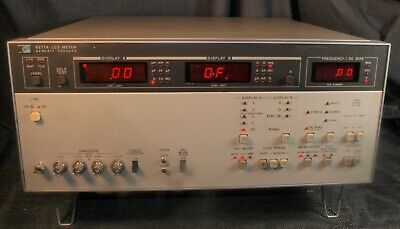 Hp Agilent 4277a Lcz Meter 10 Khz To 1 Mhz Opt 001 No Errors Clean Manual