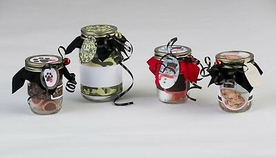 DIY Mason Jar Gift Craft Kits by Create Joy 12 Yule Tide Greetings - Diy Mason Jar Gifts
