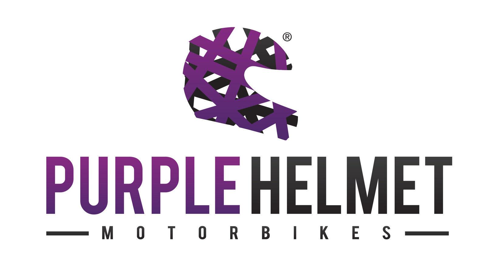Purple Helmet Motorbikes