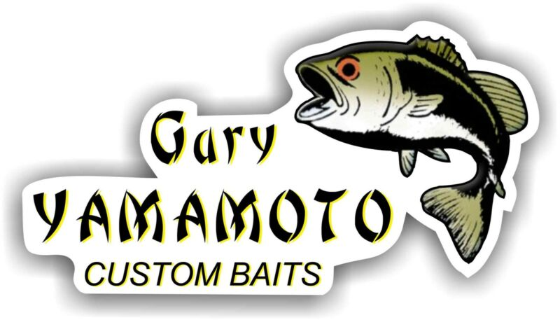 "5"" Yamamoto Senko Decal Sticker Tackle Box Lures Fishing Boat Truck Baits"