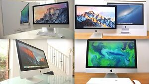IMACS x 6 for sale + 21inch and 27inch + BONUS SOFTWARES! Aspendale Gardens Kingston Area Preview