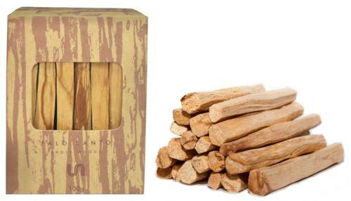 Palo Santo Incense Sticks Bulk | 100 Grams (Approximately 13-18 Sticks)