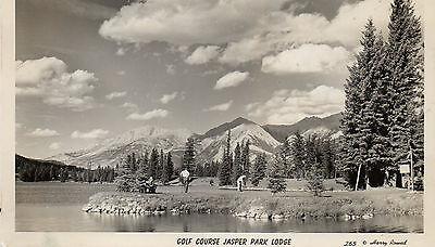 Postcard Canada  Jasper golf course Jasper Park Lodge  unposted