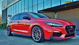 """(Hyundai i30 N) G.MAX Flow Forged 18"""" Wheels Continental MC6 Tyres Mitcham Whitehorse Area Preview"""