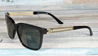 Versace VE4307-GB1/87 BLACK grey 58 mm Men's Sunglasses