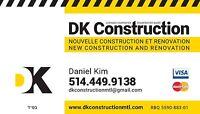 Nouvelle construction et renovation/New construction renovation