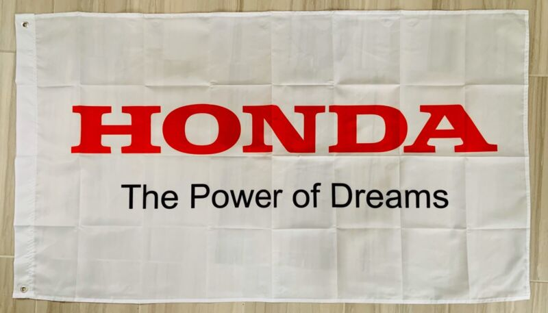 HONDA ACURA CIVIC PRELUDE TSX RSX INTEGRA FLAG BANNER DRAPEAU MAN CAVE GARAGE