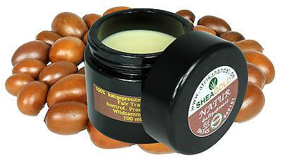 Kalt Gepresste Shea Butter (pure Sheabutter wild & organic Karite unraffiniert kaltgepresst Premium Qualität)