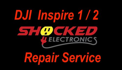 DJI Inspire 1 / 2 PRO Repair Service - CRASHED OR BRICKED -  WE CAN FIX IT !