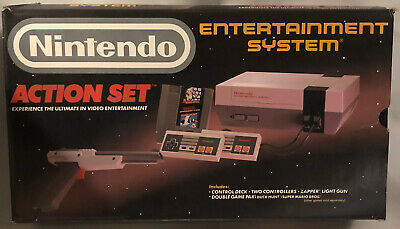 Vintage Nintendo Entertainment System Action Set      *** Box Only***