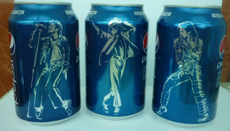2012 Michael Jackson Pepsi Cans Romania - Full Collection