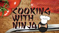 Need an intro for my YouTube channel. Cooking with ninja