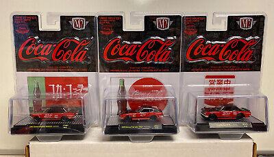 M2 Machines Coca Cola Release JPN01: 1/64 Complete Set Of 3 Cars HOBBY EXCLUSIVE
