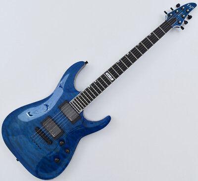 ESP USA Horizon Electric Guitar in See Thru Blue