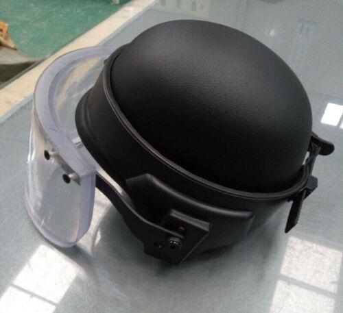 UHMW PE M88 IIIA Bulletproof Helmet+ IIIA Bulletproof  Visor Ballistic Mask