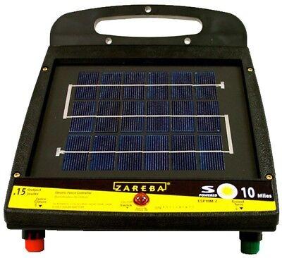 Zareba ESP10M-Z 10-Mile Solar Low Impedance Fence Charger