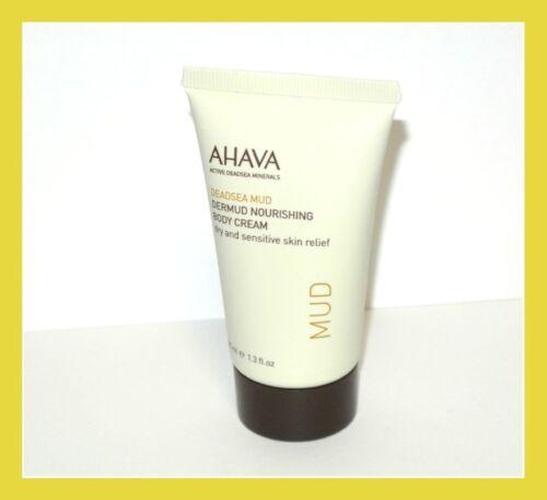 AHAVA Dead Sea Mud Dermud Intensive Body Cream 1.3 fl.oz. ne