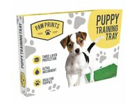 NEW Puppy Training Kit Consists of 1 x Puppy Training Tray & 1 x box of 20 Puppy Training Pads