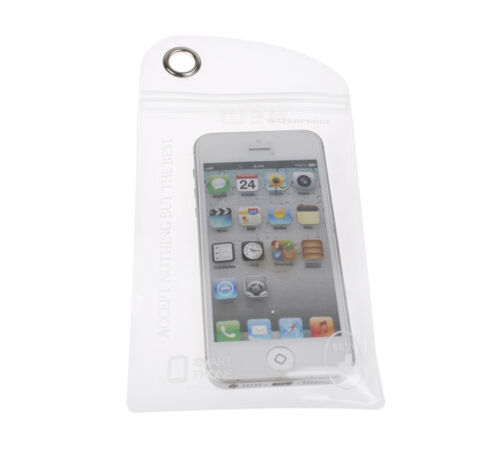 2 Waterproof Bag Case Cover Swimming Beach Pouch For Mobile Cell Phone Camera IF