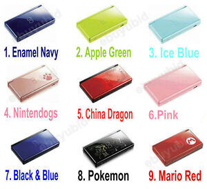 New Nintendo DS Lite Consoles DSL Handheld System 9 Colors Choose