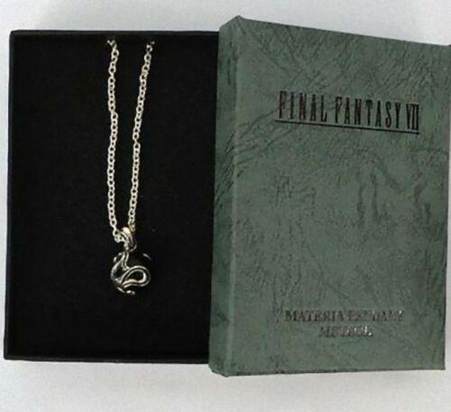 Final Fantasy VII 7 Meteor Materia Pendant Silver SQUARE ENIX Official w/Box