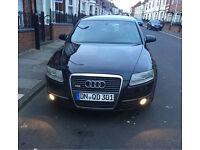 2006 Audi A6 sline 2.7d left hand Drive, negotiable