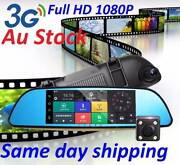 """7"""" Android rearview mirror Car DVR two cameras Wifi BluetoothDVR Doncaster Manningham Area Preview"""