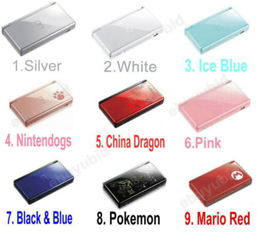 Nintendo DS Lite Console Handheld Gaming System Video Game Console Comes 7 Color