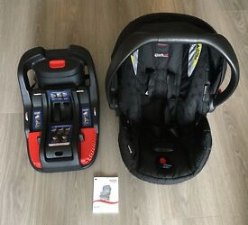 Britax B-safe infant car seat and base