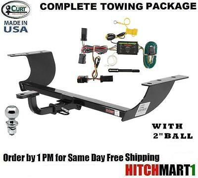 "FITS 2012-2014 CHRYSLER 300S  CLASS 2 CURT TRAILER HITCH PACKAGE w/ 1 7/8"" BALL"