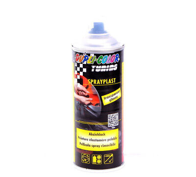 Abziehlack Sprühfolie 400 ml transparent glanz Dupli-Color SPRAYPLAST DC388095