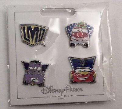 Disney Cars Halloween Costumes (Disney Cars Halloween Costumes Set of 4 Pins Mater Lightning McQueen)