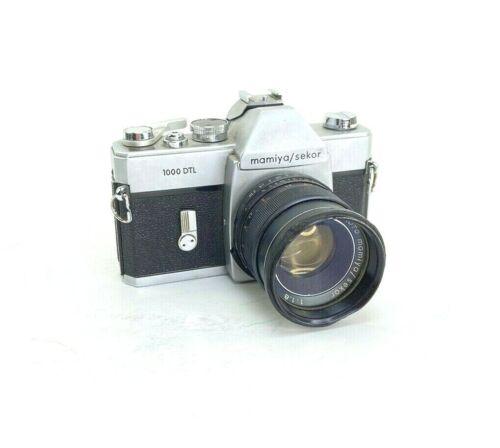 Vintage Mamiya/Sekor 1000 DTL Camera With f 1:1,8 55mm Auto Lens Asahi Pentax