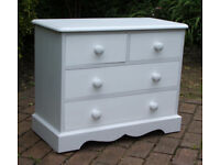 Ducal - Small Vintage - Shabby Chic - Solid Pine Chest of Drawers