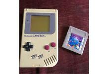 Nintendo Gameboy +Tetris