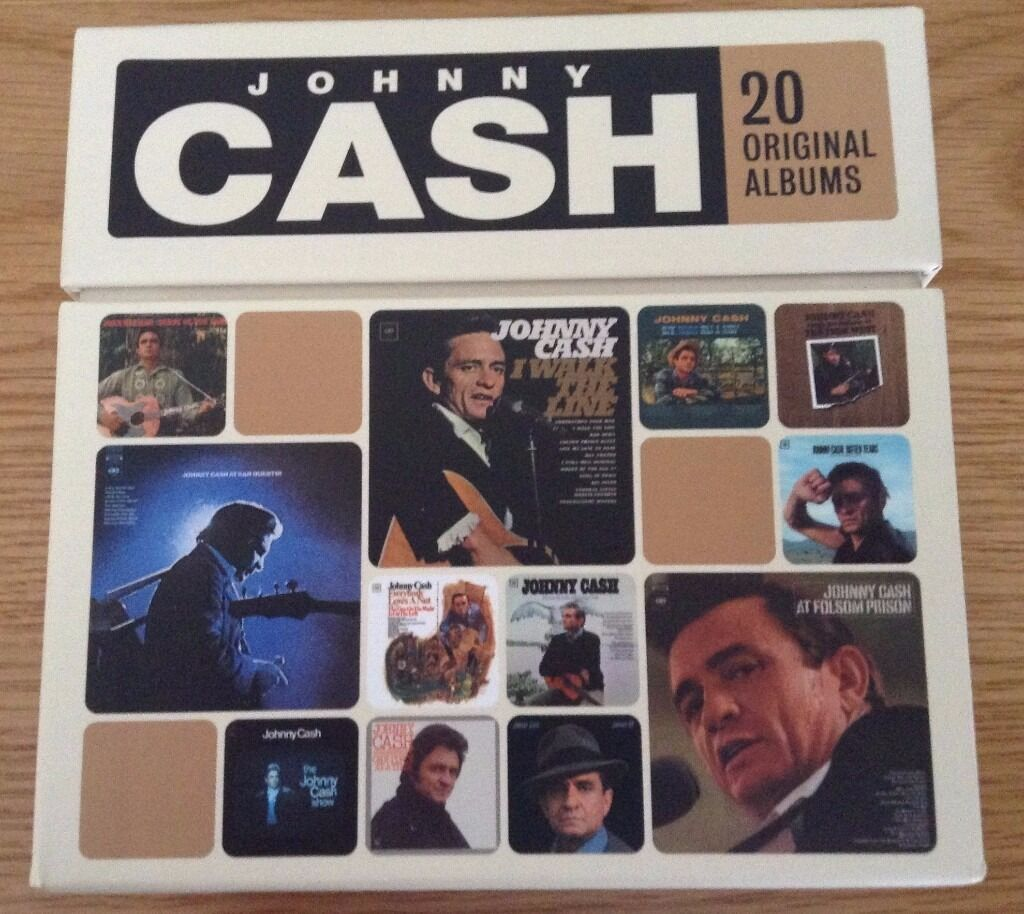 Johnny Cash Box Set 20 Original Albums 224 Songs Fathers Day Giftin Cheltenham, GloucestershireGumtree - Johnny Cash. Box Set of 20 Original Albums ((photo 7). 224 Songs. As New Condition. Perfect Fathers Day Gift. Asking price only. If you email me with any questions please check your spam folder for a reply