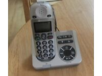 Big Tel 280 cordless amplifier telephone & answering machine.