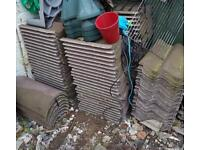 130 new roof tiles and 7 ridge tiles