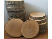 **WANTED** 25-30cm tree/ log slices (60 in total)