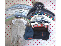 Baby boy clothes bundle.19 items.3-6 months.Next,Head,John Lewis,M&S,etc.Willing to split. £8 ovno.
