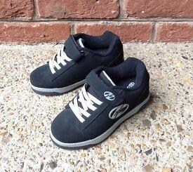 X2 Black Dual Heelys size 2