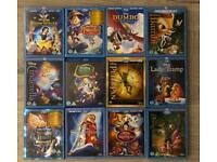 Disney Blu-Ray Collection 52 movies
